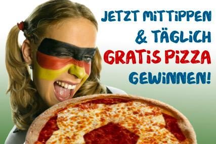 UNO Pizza - WM Tippspiel Gratis Pizza